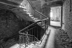 Treppe zur Vergangenheit