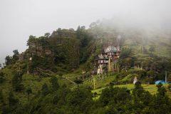 Bergkloster in Bhutan