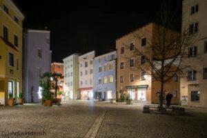 Wasserburg Nacht